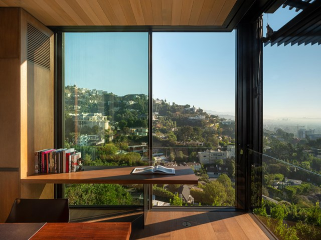 olson kundig's hillside 'collywood house' presents sweeping views across los angeles