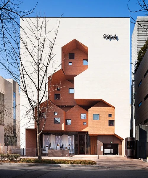 TRU architects designs '0914' flagship store as co-working village in seoul