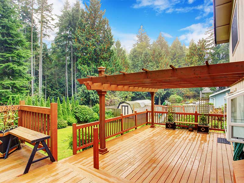 consider before adding a deck or patio