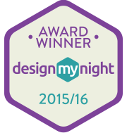 DesignMyNight awards badge