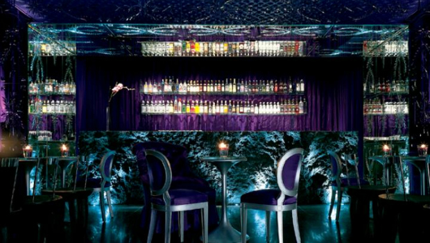 The Purple Bar Sanderson Hotel London  DesignMyNight