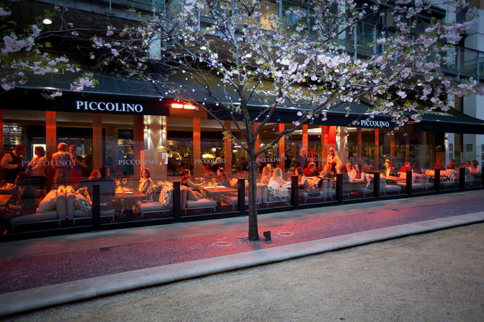 Dining in bristol piccolino misslilly 39 s journeys for Piccolino hotel decor