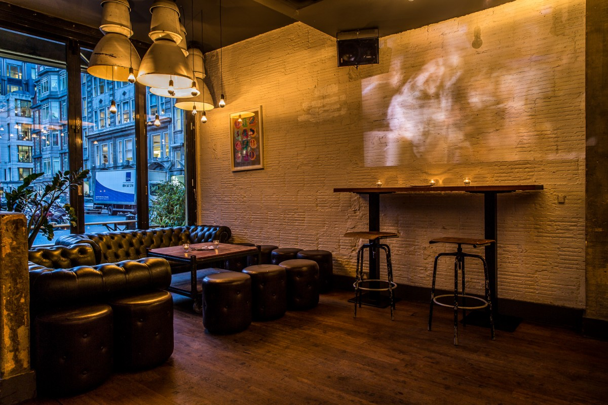 Graphic Bar Soho Golden Square Dress Code London Reviews  DesignMyNight