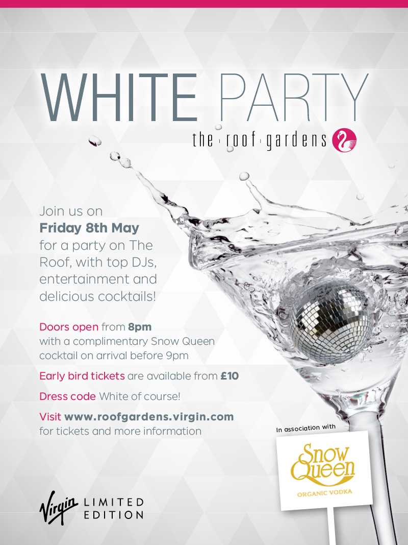 White Party  Kensington London Clubbing Reviews  DesignMyNight