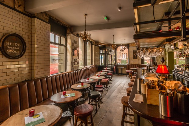 The Mall Tavern Pub Palace Gardens Notting Hill West