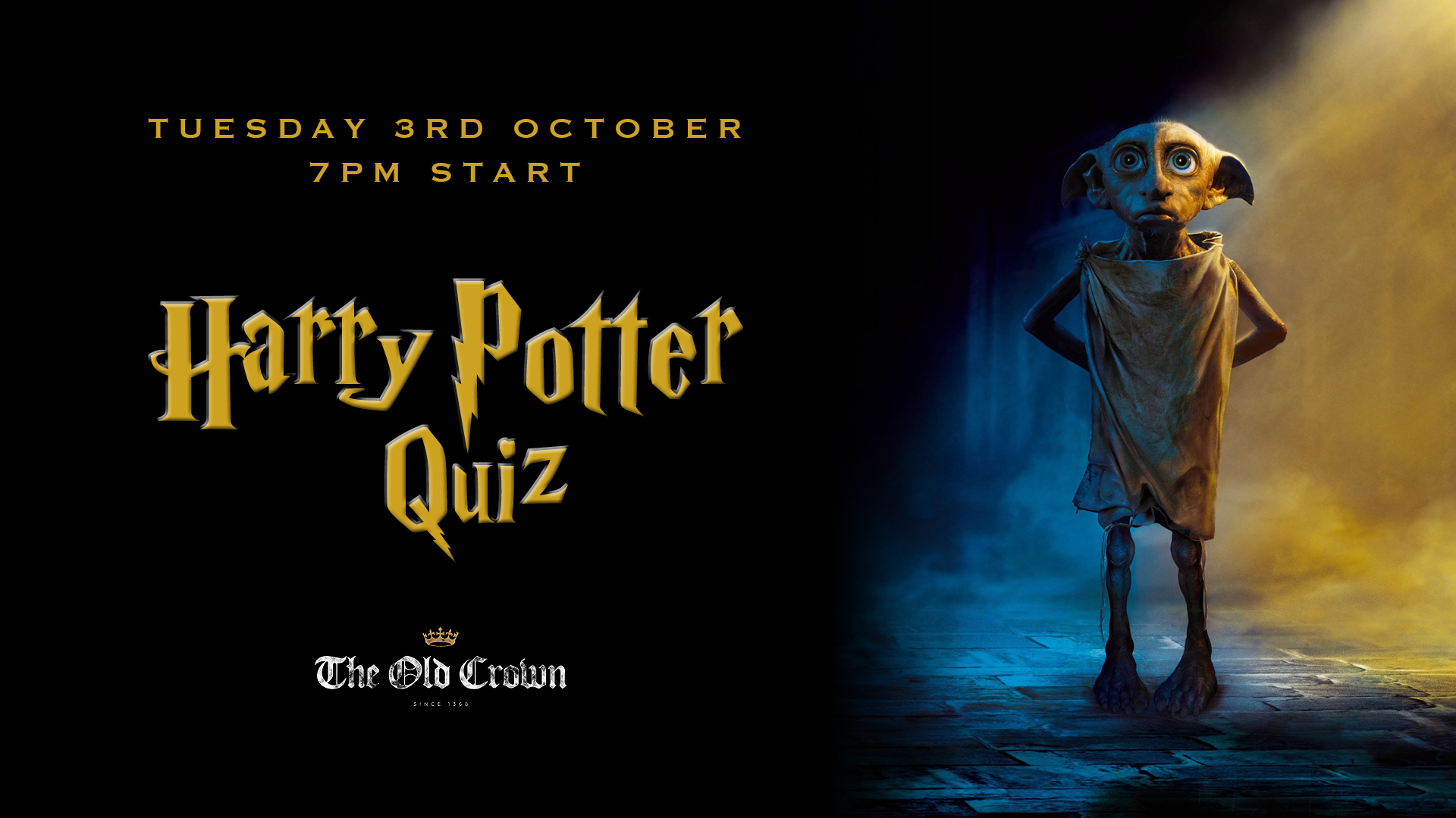 Harry Potter Quiz At The Old Crown