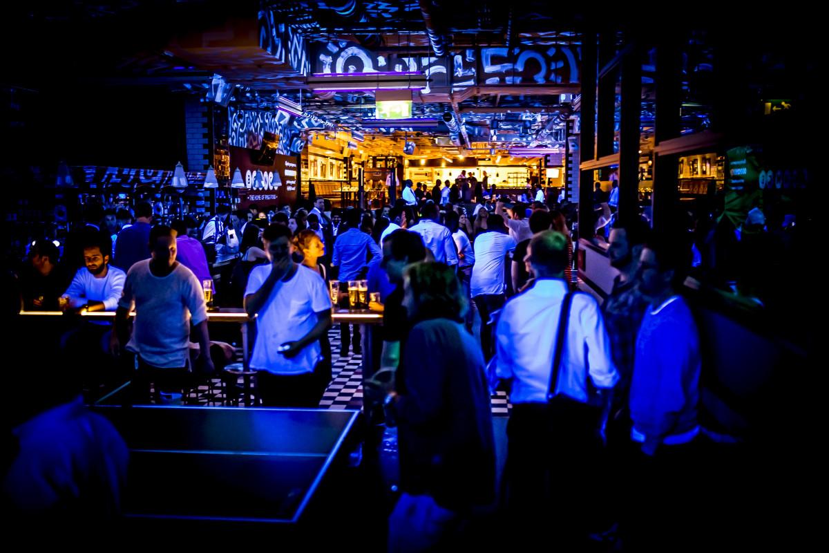 Bounce Farringdon  London Bar Reviews  DesignMyNight