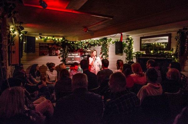 Secret Comedy Club Pro Night Brighton
