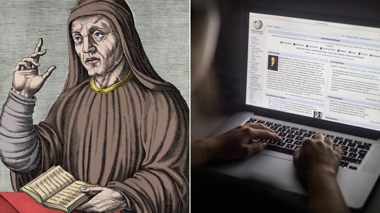 Eine Stunde History Alkuin Erfinder unserer Schrift  Dlf
