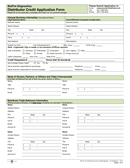 These free business credit application forms will help you collect and organize the appropriate information so both the lender and borrower can stay on the same page and make informed. Credit Application Form Download Free Documents For Pdf Word And Excel
