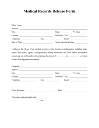 Authorization Review Of A Va Claim | Download PDF