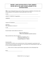scholarship fund donation request letter in Word and Pdf ...