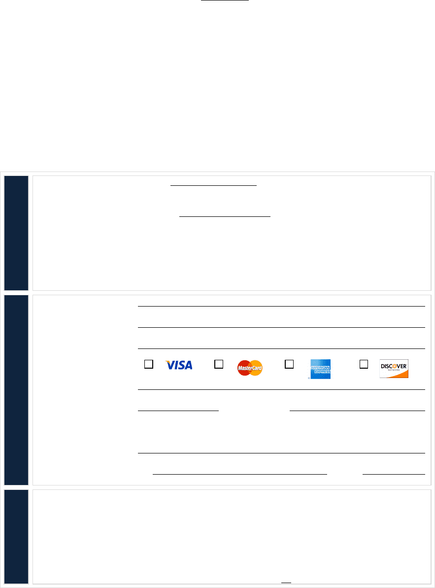 Example Client Credit Card Authorization Form
