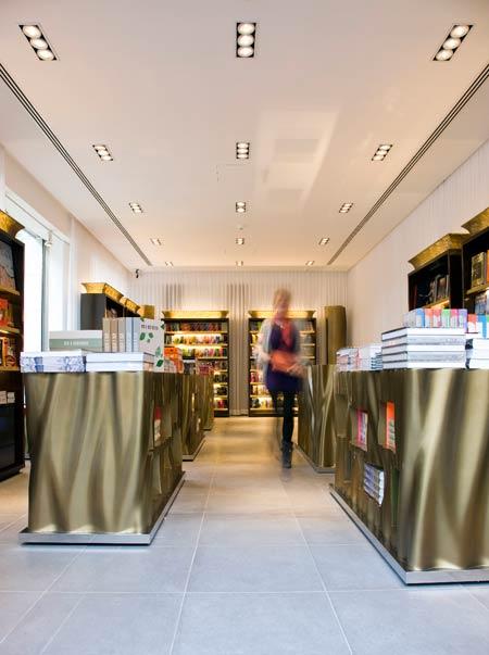 Taschen store London by Philippe Starck