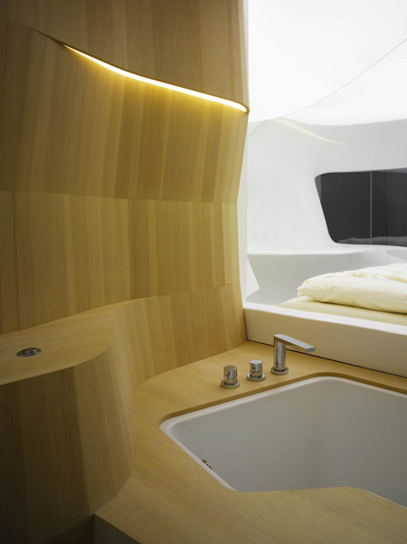 Future Hotel Room by LAVA  Dezeen