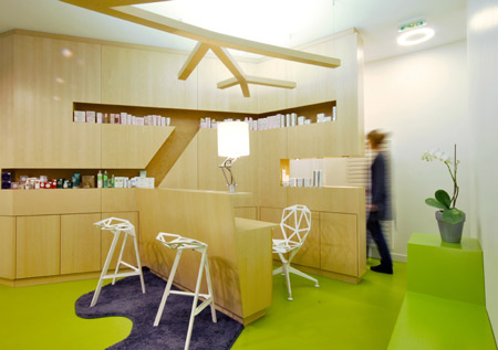bstitut beauty parlour by trust in design