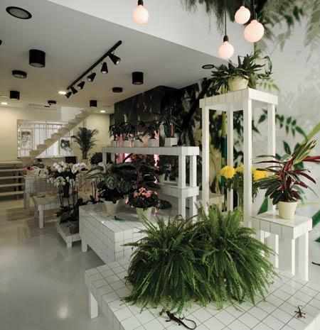Aktipis Flowershop by Point Supreme Architects  Dezeen