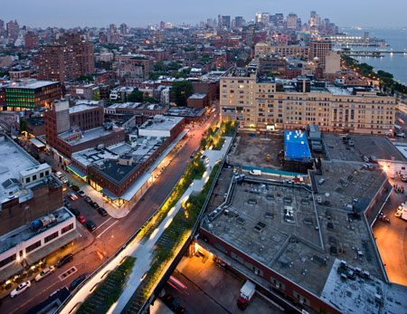 The High Line by James Corner Field Operations and Diller Scofidio + Renfro