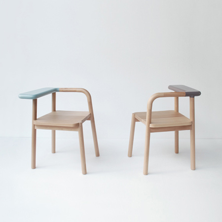Chair, lamp & crane by Studio Juju