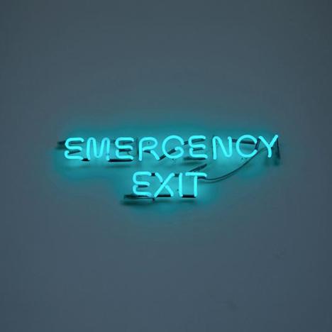 Emergency Exit by Agnieszka Kurant and Aleksandra Wasilkowska