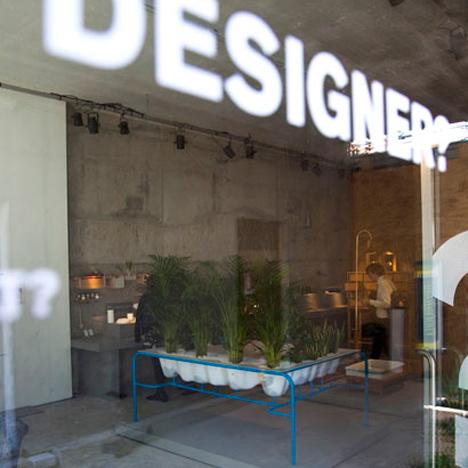 Design Academy Eindhoven show Milan 2010