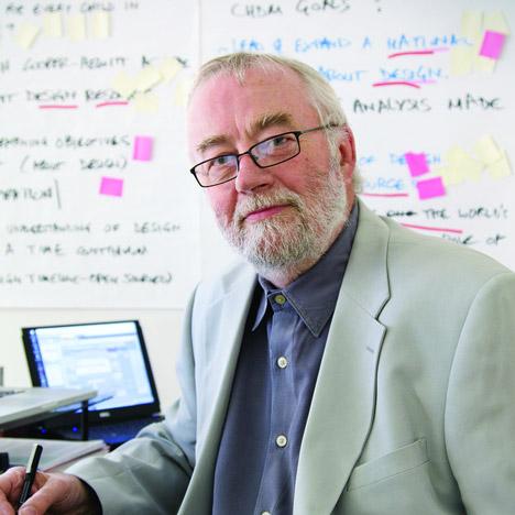 Industrial designer Bill Moggridge
