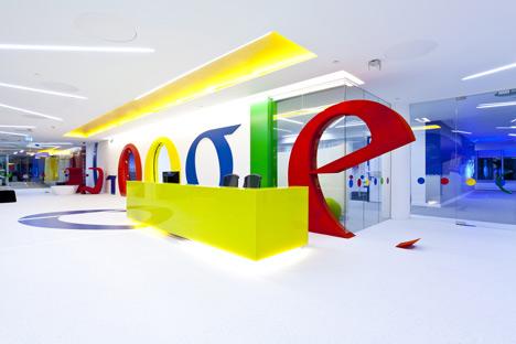 Google office by Scott Brownrigg Interior Design