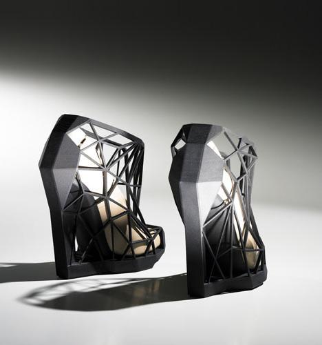 3D Printed Shoes, Dezeen