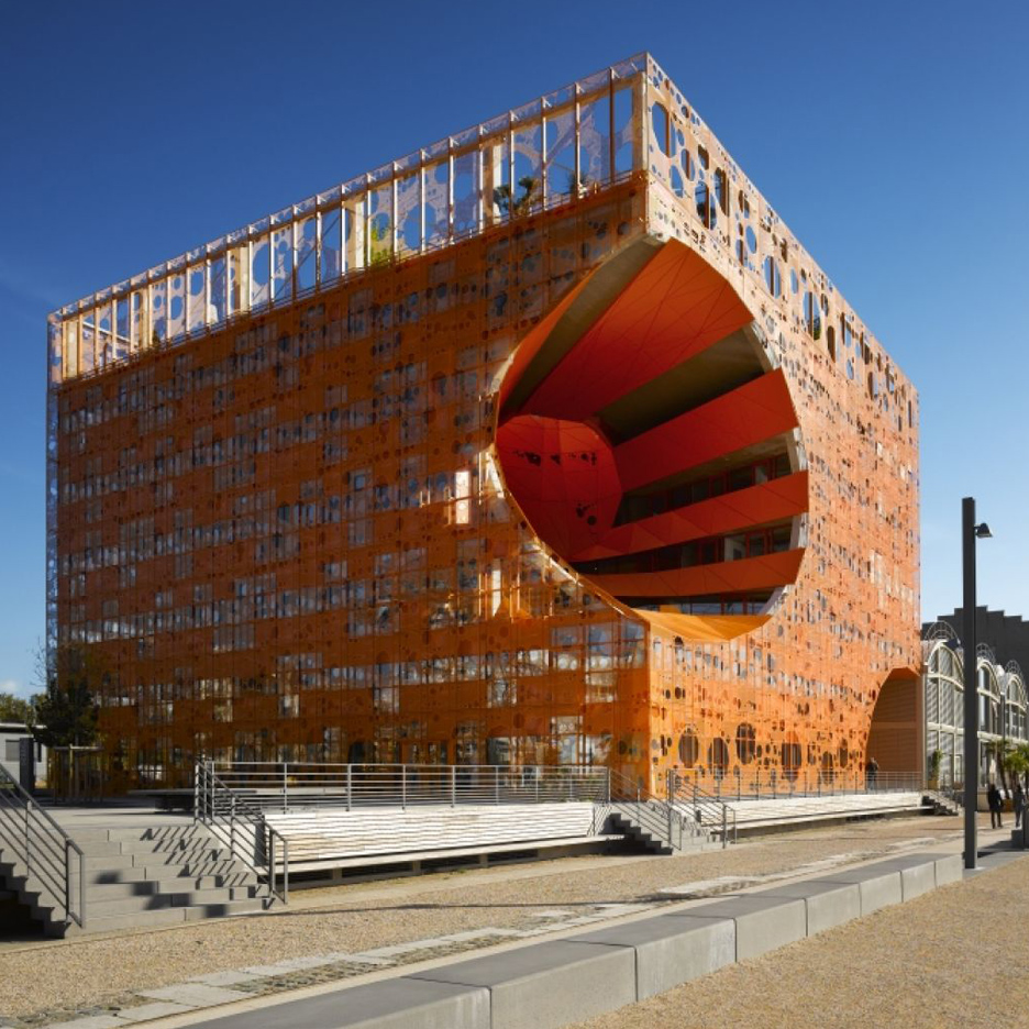 the orange cube by