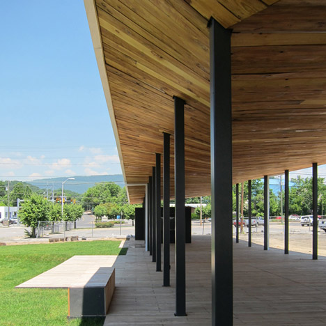 Covington Farmers Market by design/buildLAB at VA Tech School of Architecture + Design