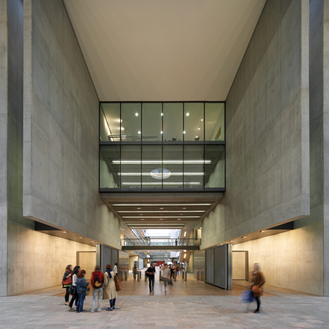 Campus for Central Saint Martins by Stanton Williams