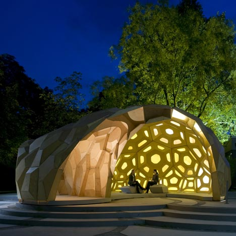 ICD ITKE Research Pavilion at the University of Stuttgart