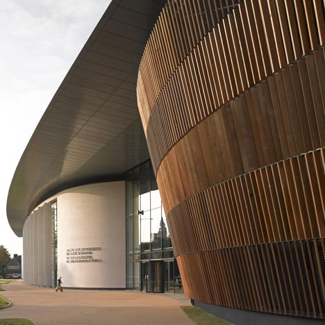 Royal Welsh College Of Music And Drama By BFLS Dezeen