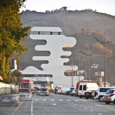 Sarpi Border Checkpoint by J Mayer H