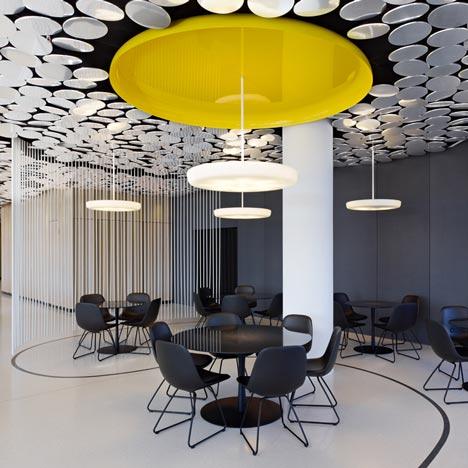 Spiegel Kantine by Ippolito Fleitz Group Identity Architects