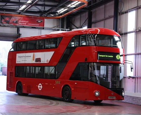 A New Bus for London by Heatherwick Studios