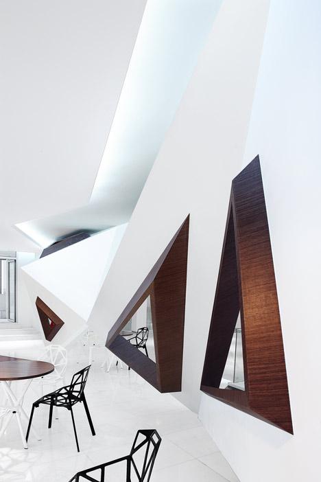 Arthouse Cafe by Joey Ho  Dezeen