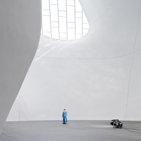 Ordos Museum by MAD