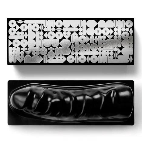 8 pouces de Chocolate Cock noir Filled With ... par United Indecent Pleasures