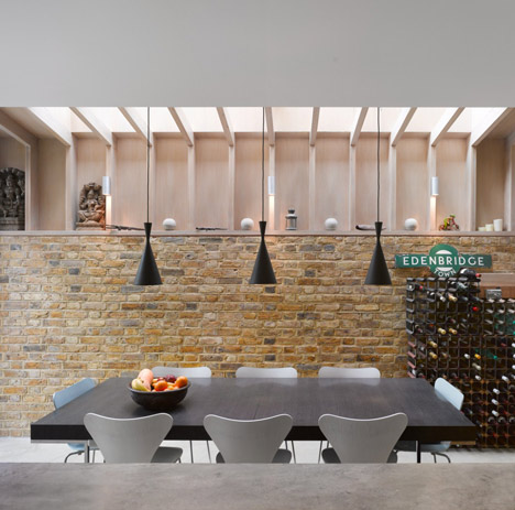 zinc top kitchen island delta faucets repair book tower house by platform 5 architects