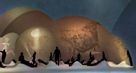 Lascaux Cave Painting Centre By Snhetta Duncan Lewis And