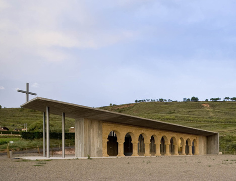 Shrine of the Virgin of La Antigua by Otxotorena Arquitectos