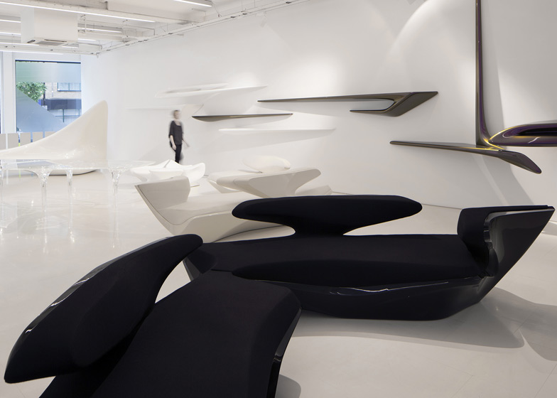 Zaha Hadid Design Gallery Opens To The Public
