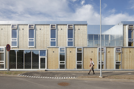 Saldus Music and Art school by Made