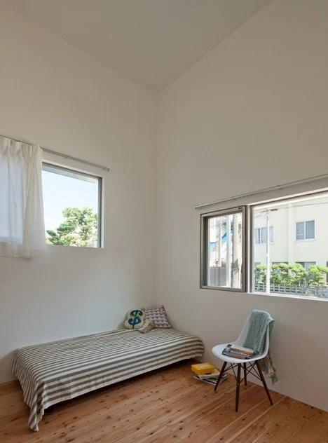 corner kitchen rug light pendants share house lt josai in japan by naruse inokuma architects