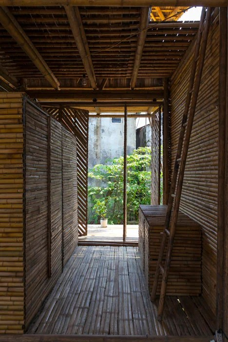 Blooming Bamboo Home by H&P Architects