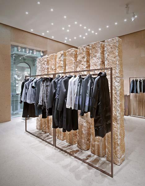 Giada Milan fashion boutique interior design by Claudio