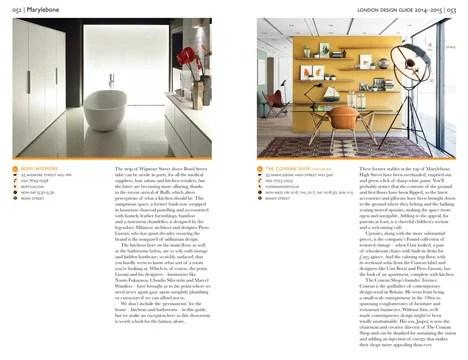 Dezeen Now Stocking London Design Guide 2014 15