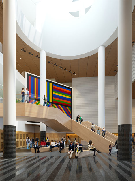 Snhetta unveils new staircase for San Francisco Museum of