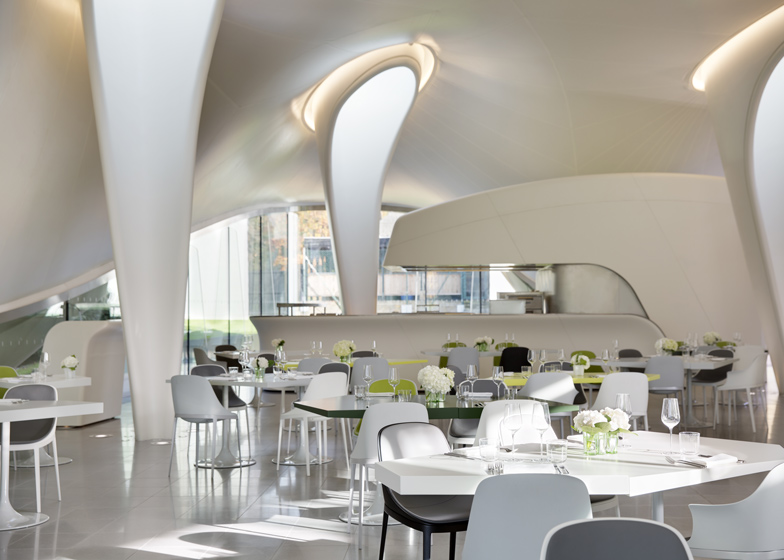 The Magazine restaurant at the Serpentine Sackler Gallery